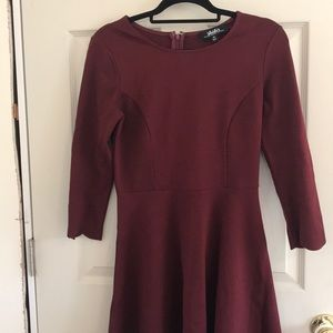 Maroon LuLu's dress
